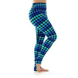 K-Deer Pop Dot High-Rise Leggings Activewear S